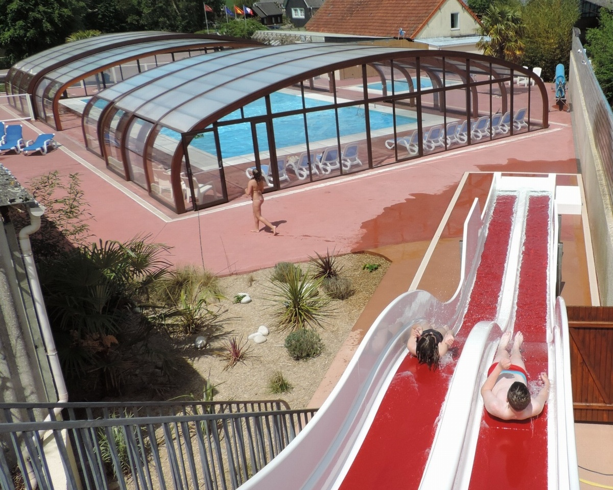 L 39 escapade normandie camping comparer les campings for Camping calvados avec piscine couverte