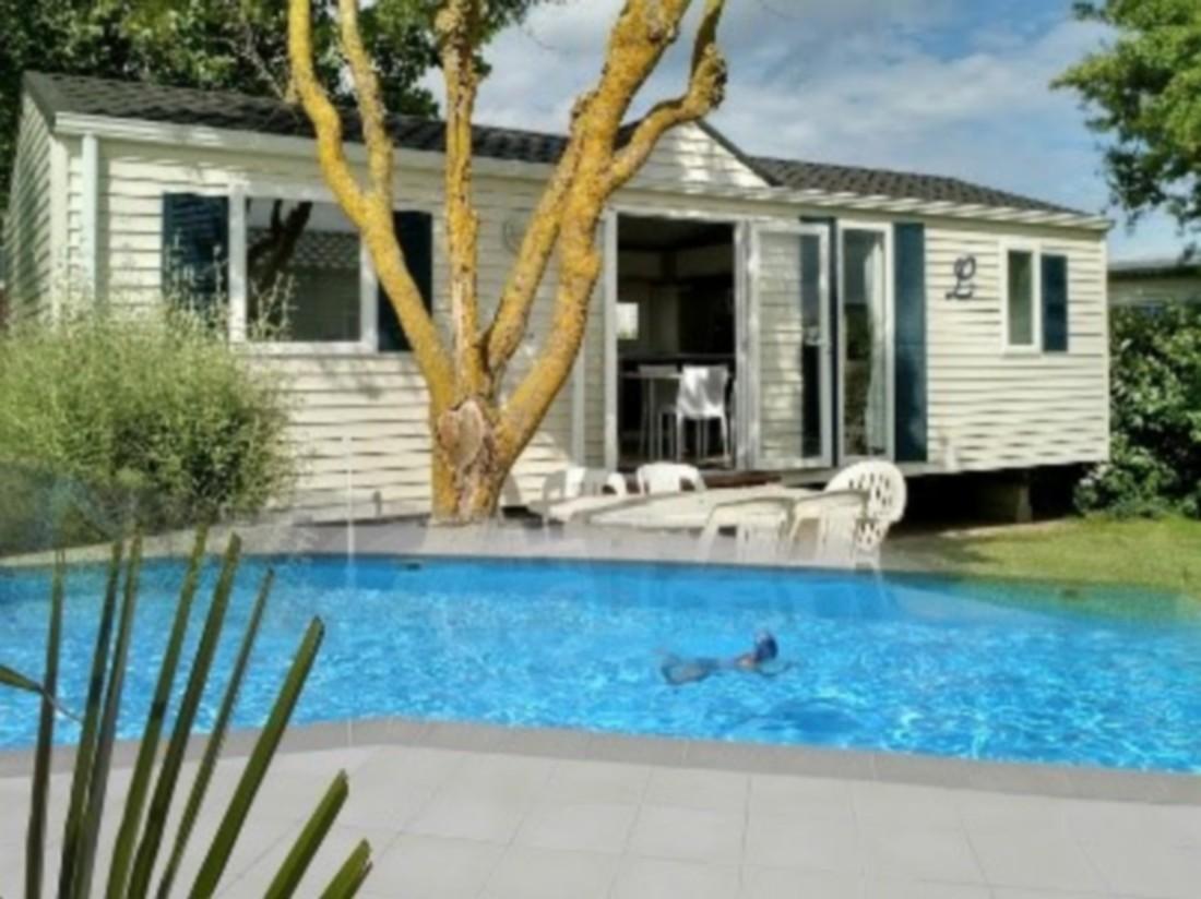 La gallouette location chalet mobil home emplacement for Camping en normandie avec piscine