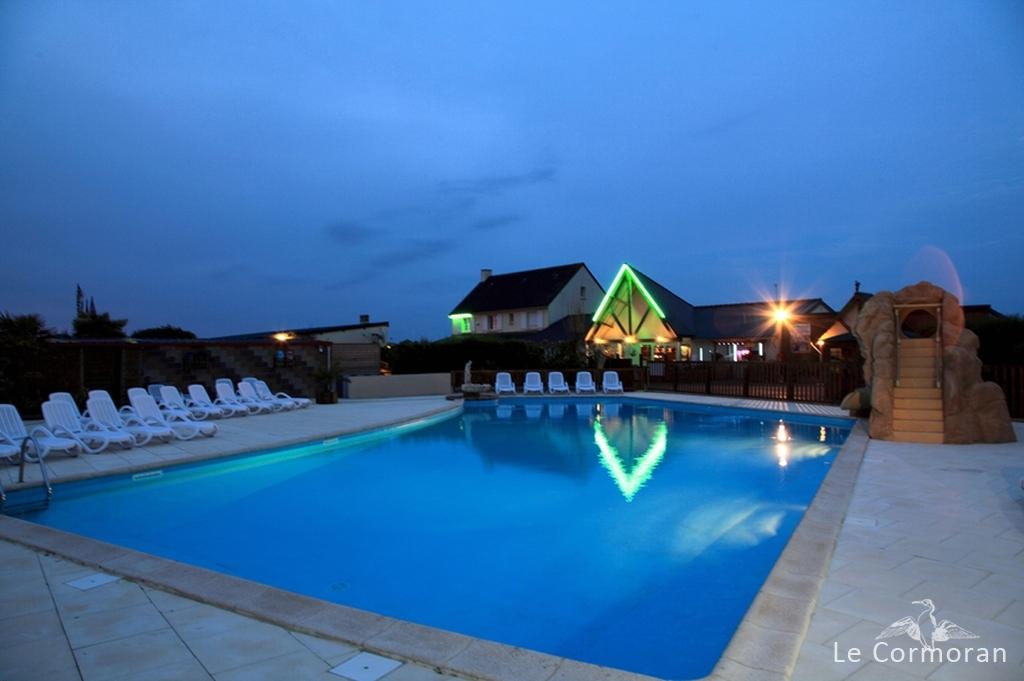 Camping le cormoran 5 toiles piscine couverte for Vacances en normandie avec piscine