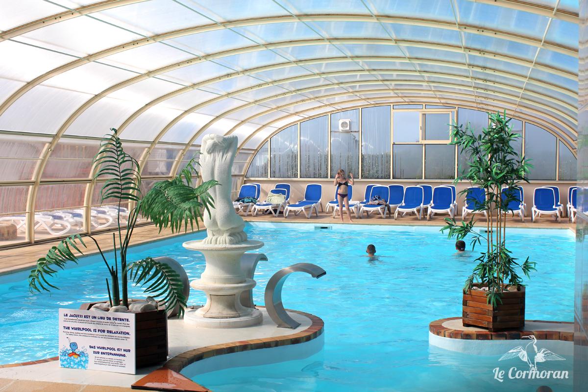 Camping le cormoran 5 toiles piscine couverte for Camping haute normandie avec piscine couverte