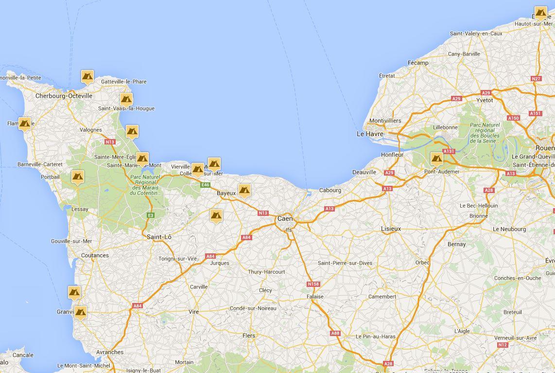 Normandie camping comparer les campings - Camping avec piscine en normandie ...