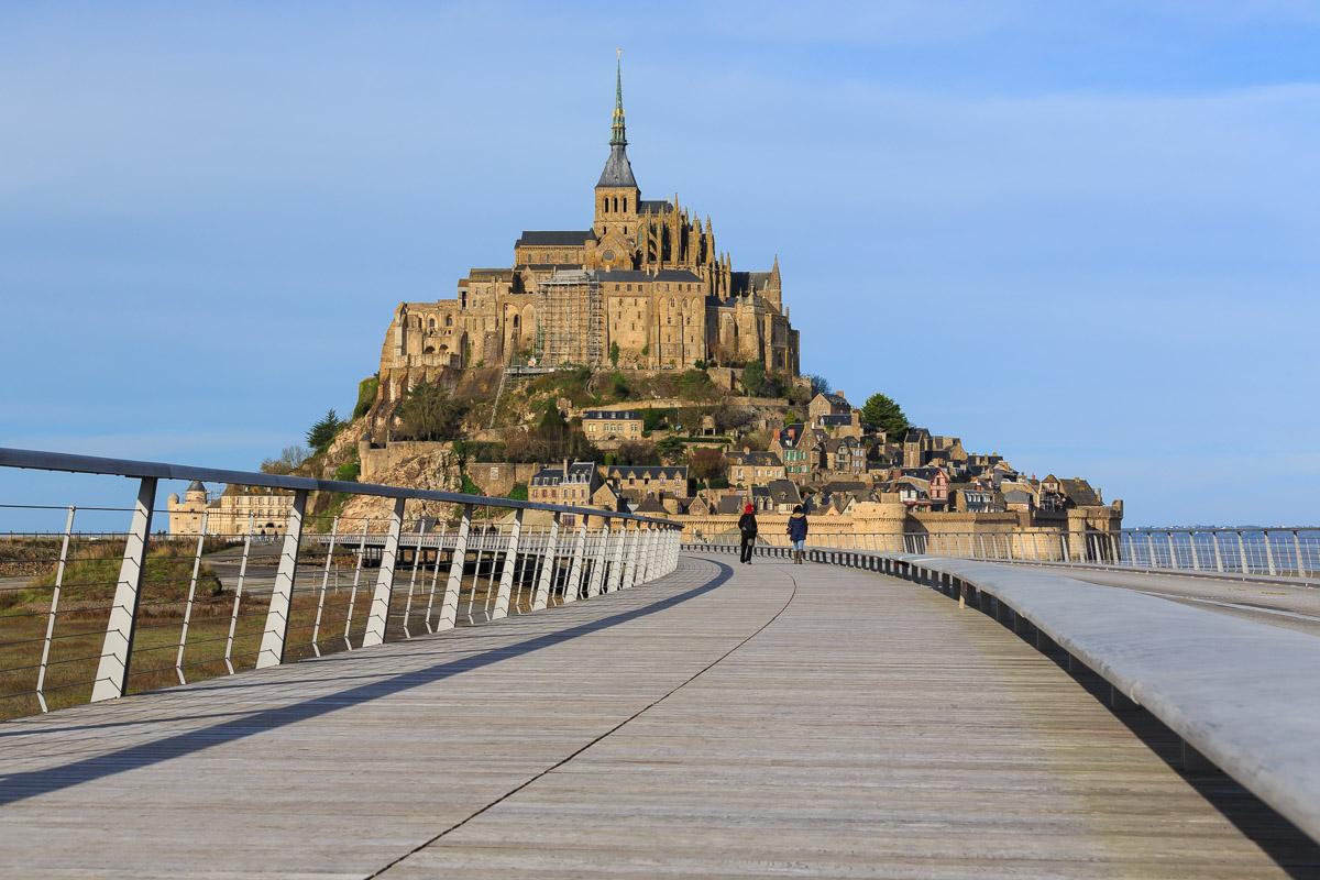 Le mont saint michel actualites en normandie - Travaux mont saint michel ...