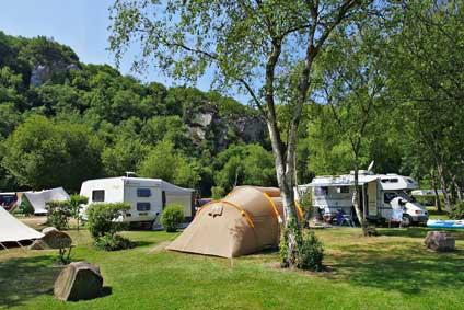 emplacement classique camping bord de mer
