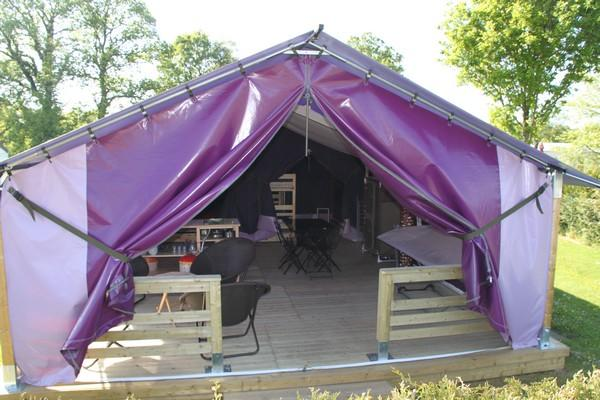 free tent normandie camping