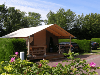 bungalow toile camping