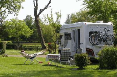 emplacement camping-car stabilisé