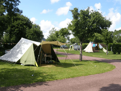 emplacement nature camping