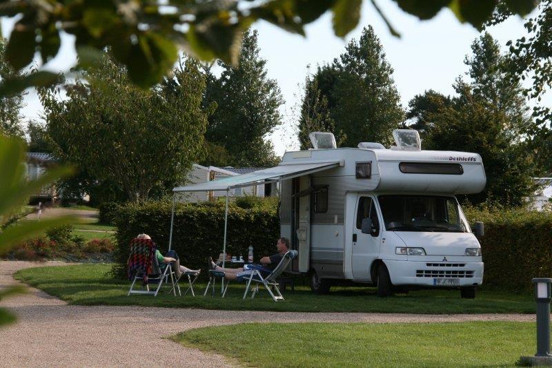 emplacement électrique camping