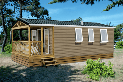 mobil-home loggia camping