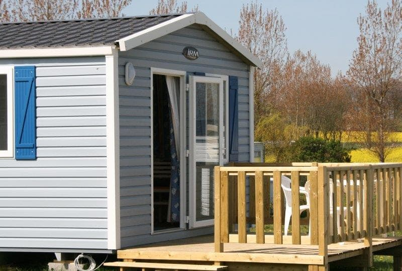 mobil-home 1 chambre camping