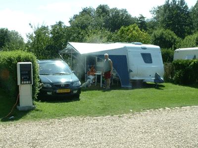 emplacement camping électricité normandie