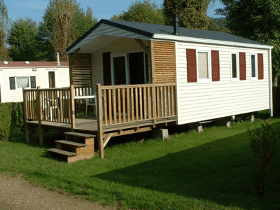 mobil home camping normandie