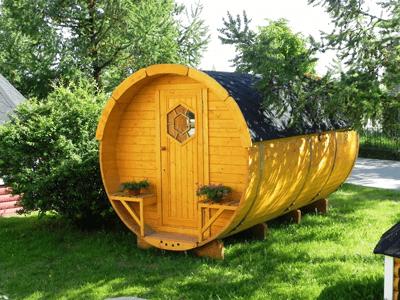 logement insolite tonneau camping