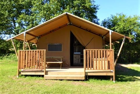 chalet toilé woody camping