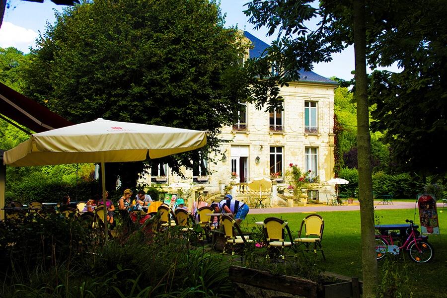 Camping Le Brévedent Normandie Café