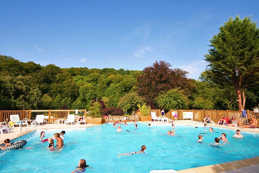 Camping Le Brévedent Normandie - piscine 4