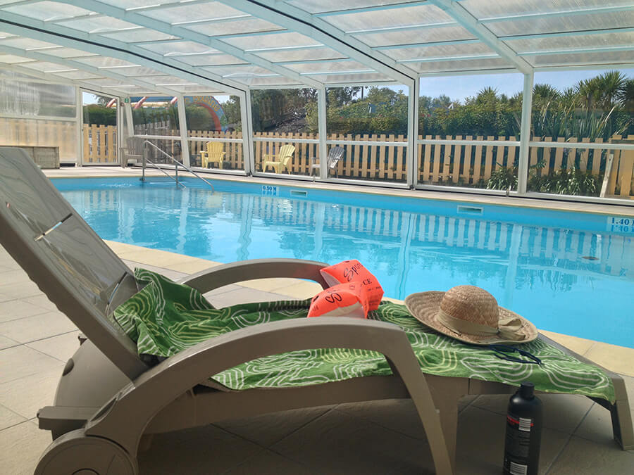 Camping Port'land - PISCINE INTERIEURE TRANSAT