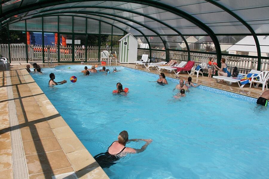 Camping l'Aiguille Creuse - La piscine couverte
