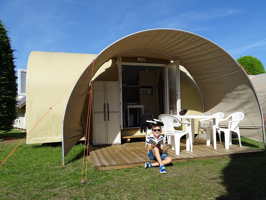 Camping l'Espérance - Location coco sweet