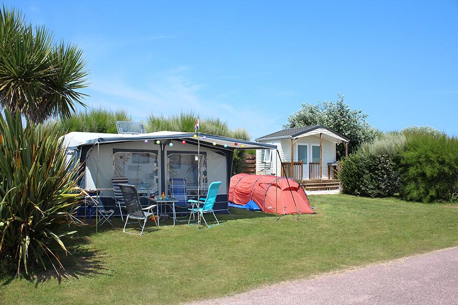 Camping le Cormoran - Emplacement Premium