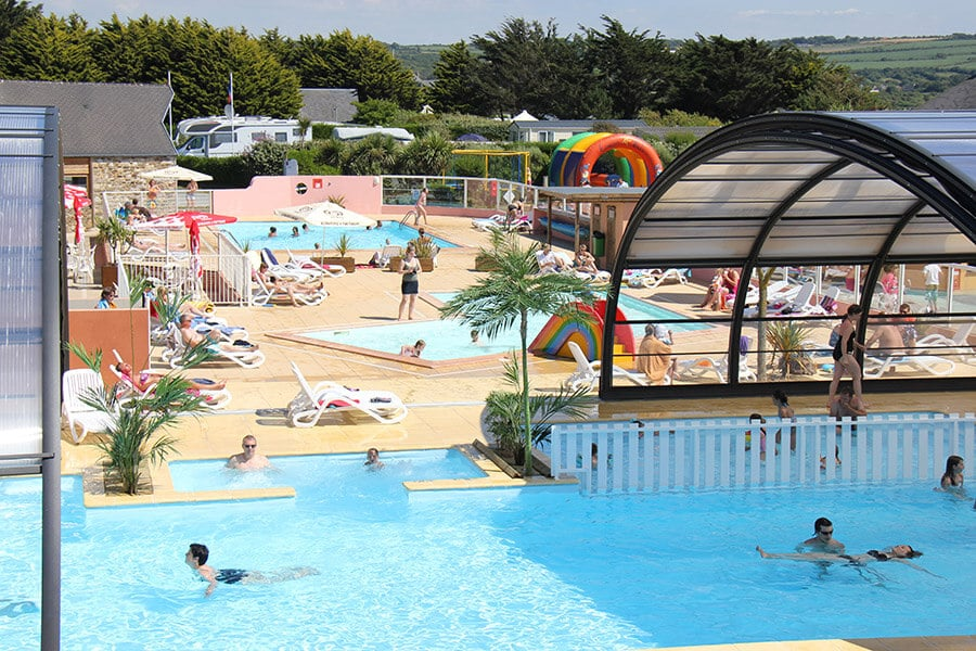 Camping le Grand Large - Piscine