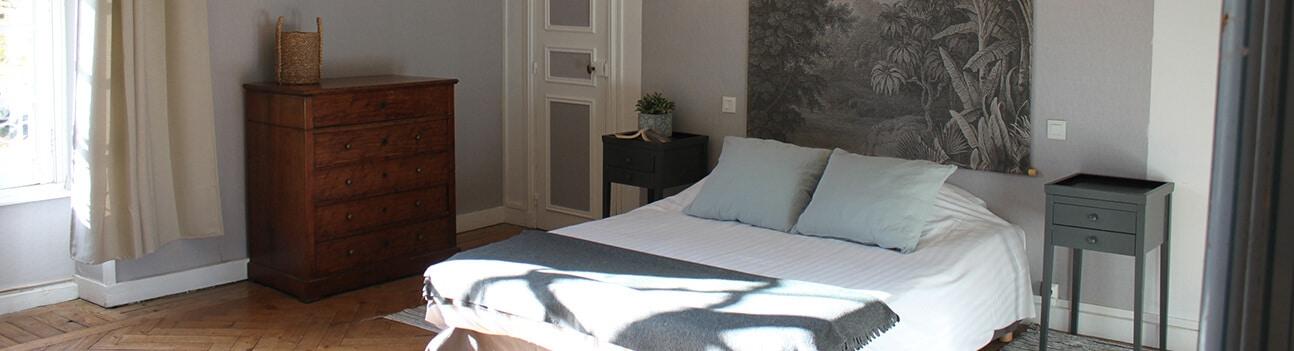 Chateau de Martragny 04 - Chambre grise