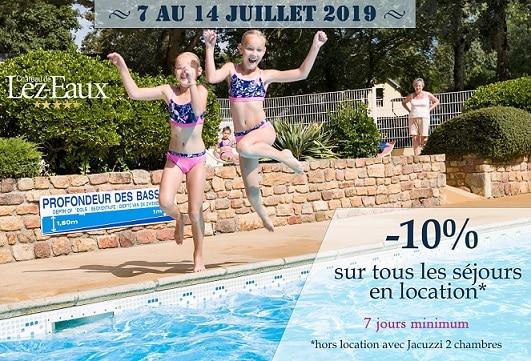 réduction vacances de juillet haute saison