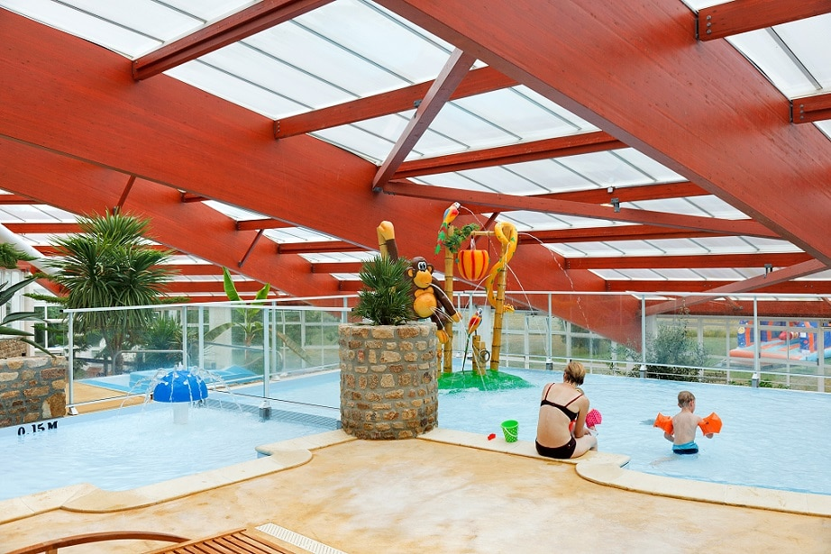 Nouveau en 2020 parc aqualudique couvert de 1300m² en Normandie