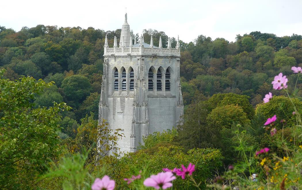 Abbaye du Bec Hellouin -® Eure Tourisme, M. Aubry