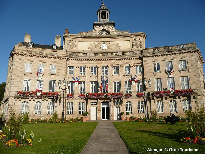 Hotel de ville d'Alençon - ®Orne Tourisme