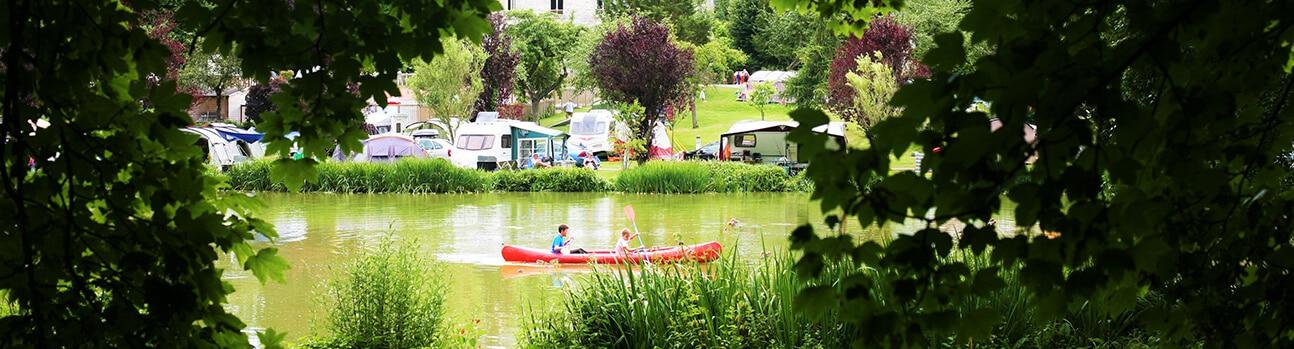 Camping Brevedent 04 - L'étang