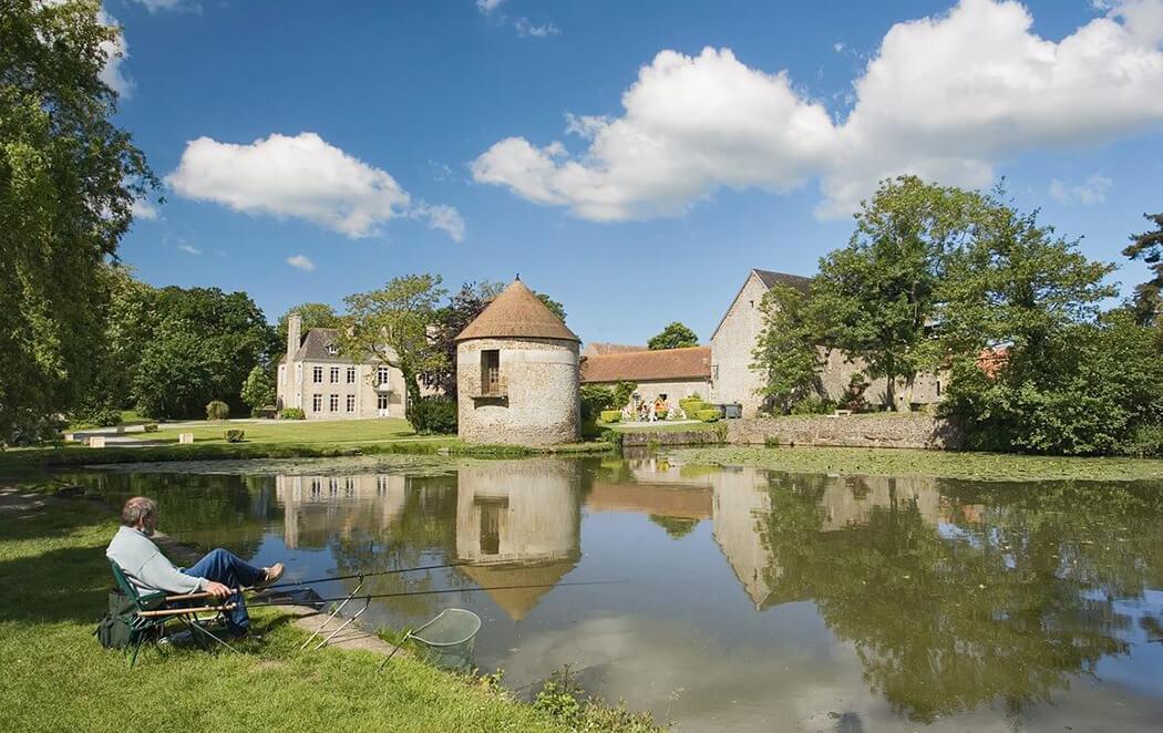 Camping Lez Eaux - Pêche en étang