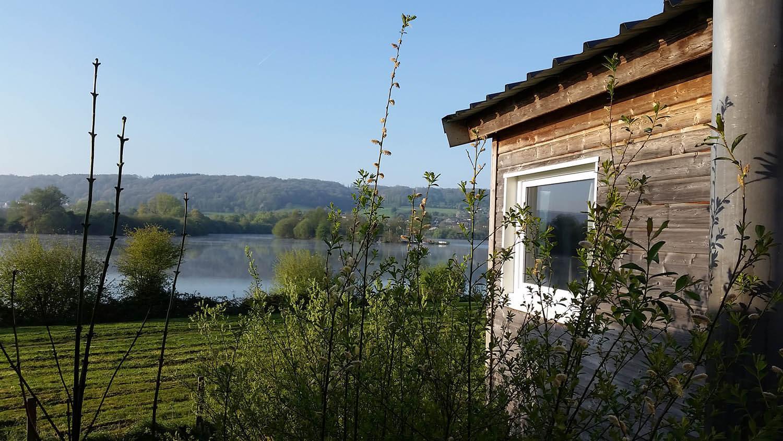 Camping Risle Seine les Etangs - Cottage au bord de l'étang