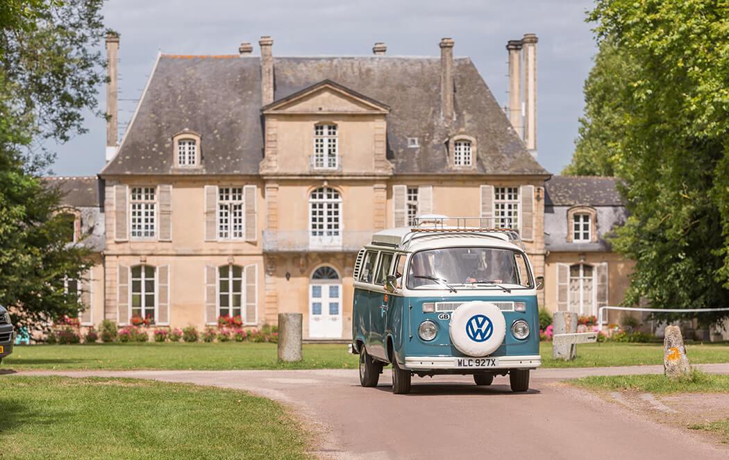 Camping du Calvados - Vacances dans un chateau