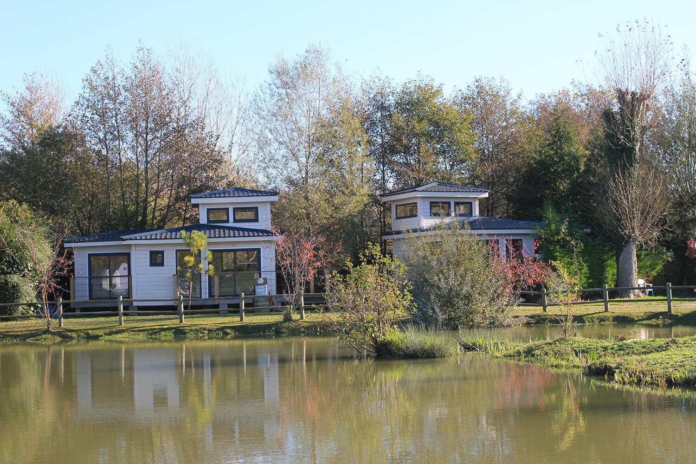 Camping le Marqueval - Chalets Tourelle