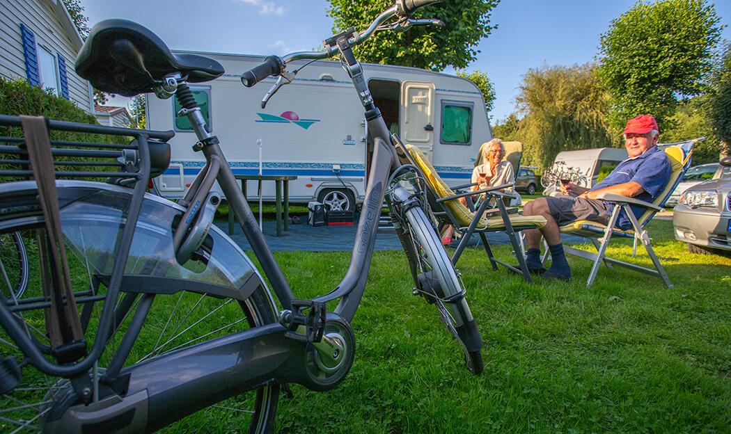 Campings avec accueil cyclotouristes en Normandie