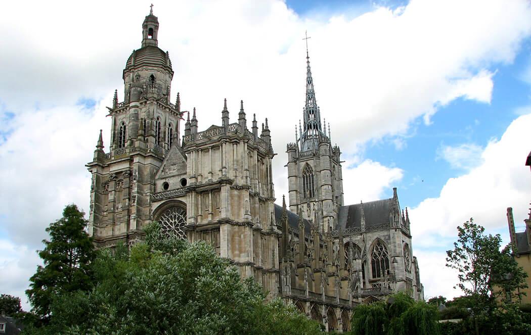 Cathedrale Evreux -® Eure Tourisme, E. Memeteau