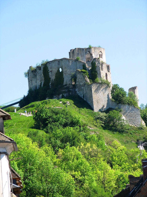 Chateau de Gaillard - ®Eure Tourisme, E. Mémeteau
