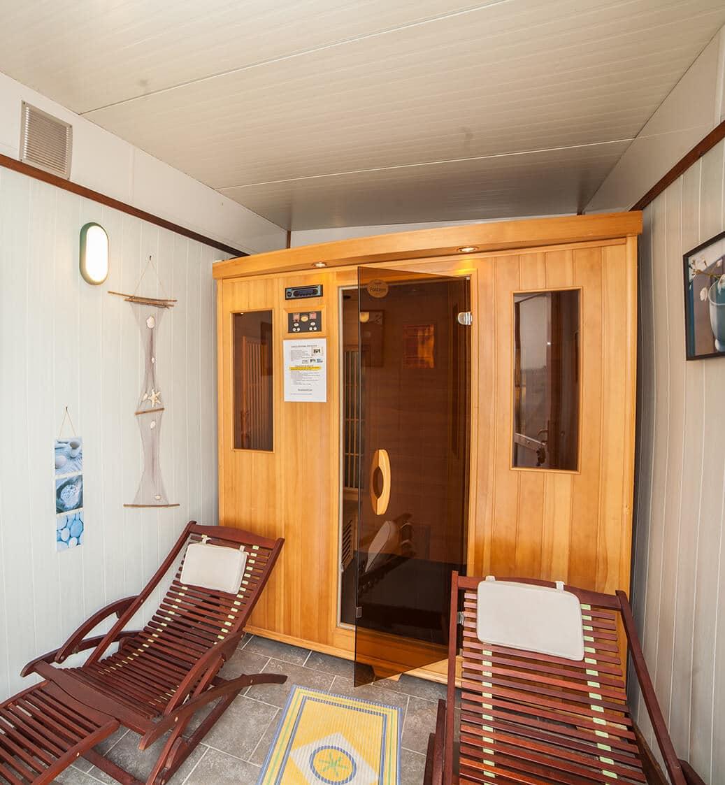 Cormoran 05 - Espace bien-être sauna