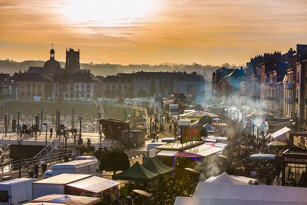 The herring festival in Dieppe