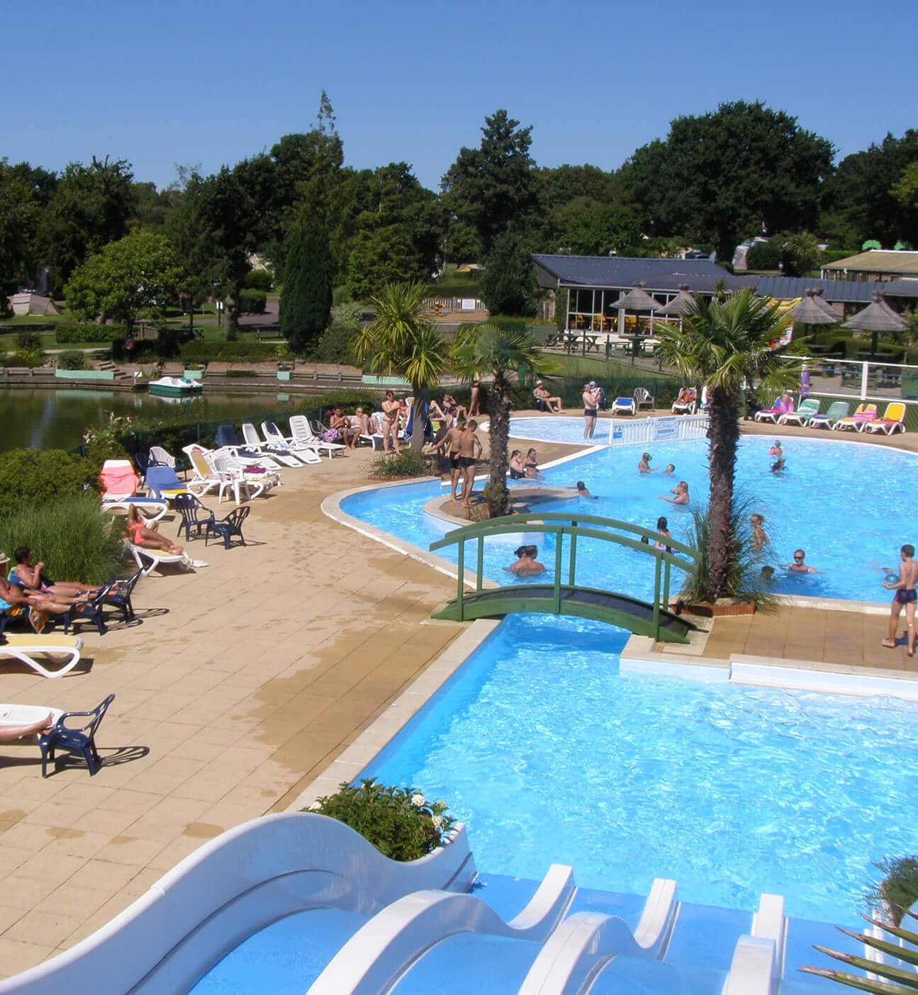 L'Etang des Haizes 01 - Espace piscine vacances
