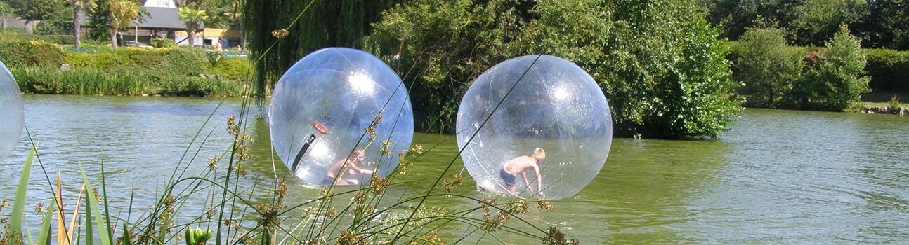L'Etang des Haizes 02 - Animations bulles gonflables