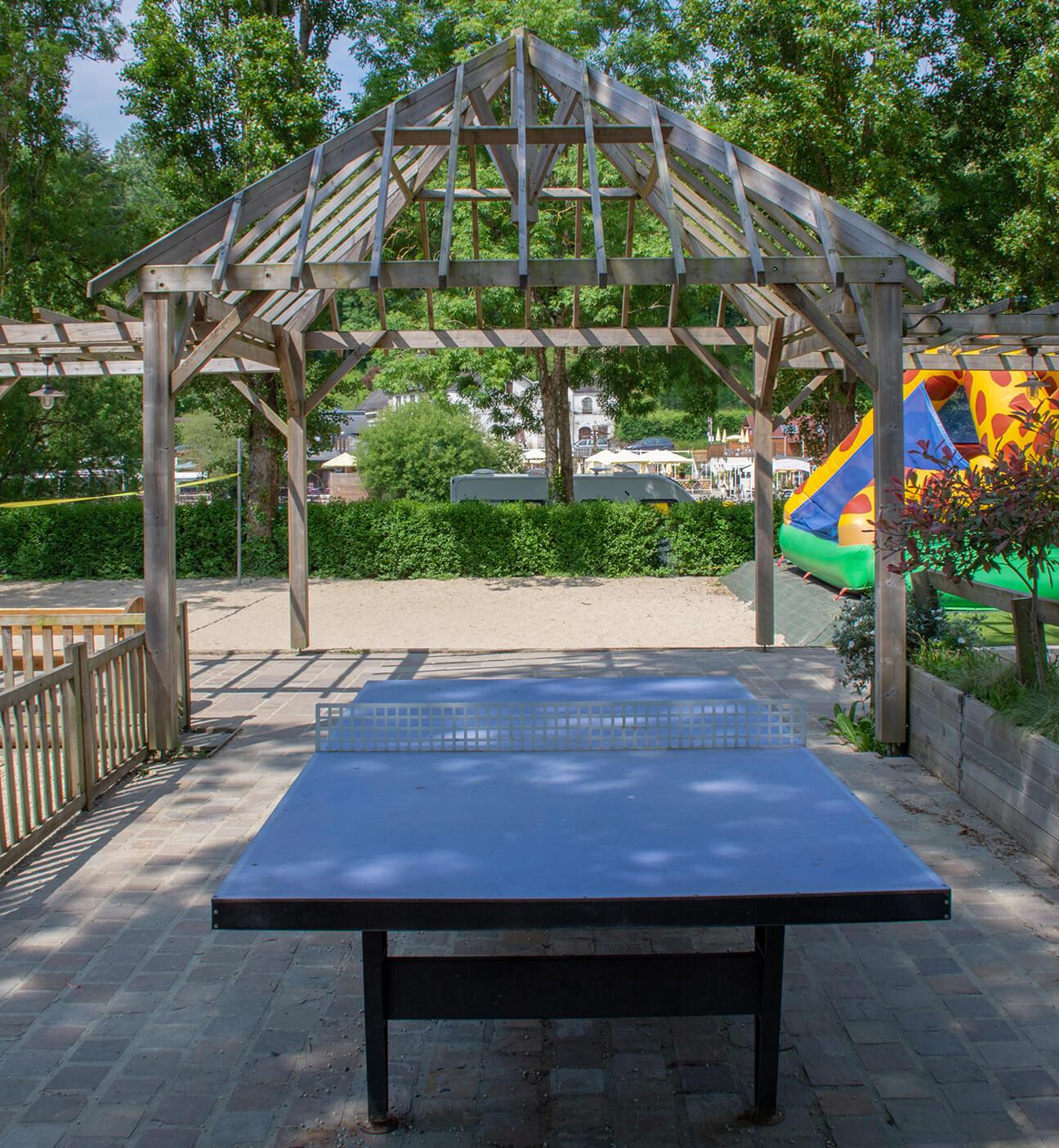 Le Rocher des Parcs 01 - Table de ping pong