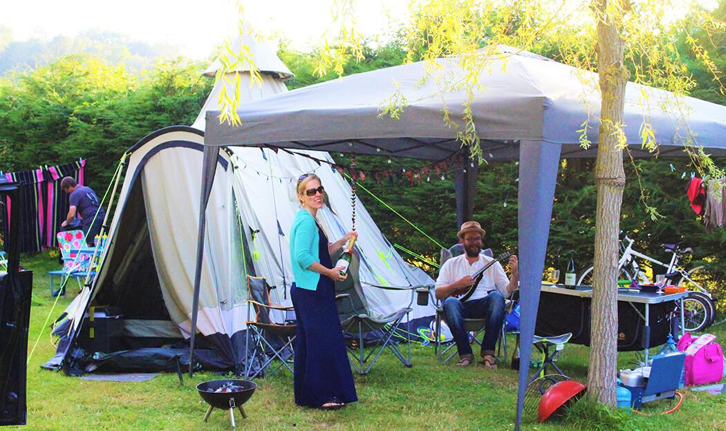 Location emplacement de camping en Normandie