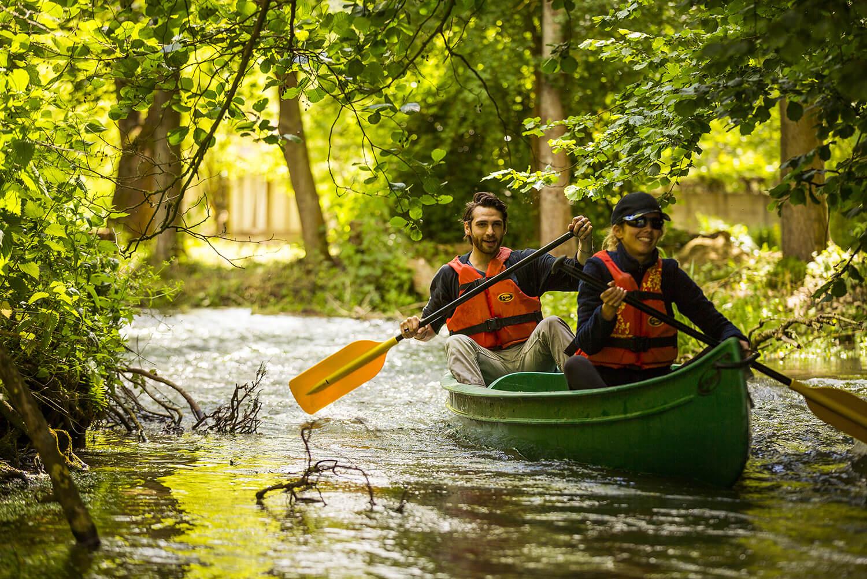 Canoe à Muchedent - ®CDT Seine Maritime, V. Rustuel