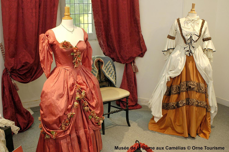 Musée de la Dame aux Camélias - ®Orne Tourisme