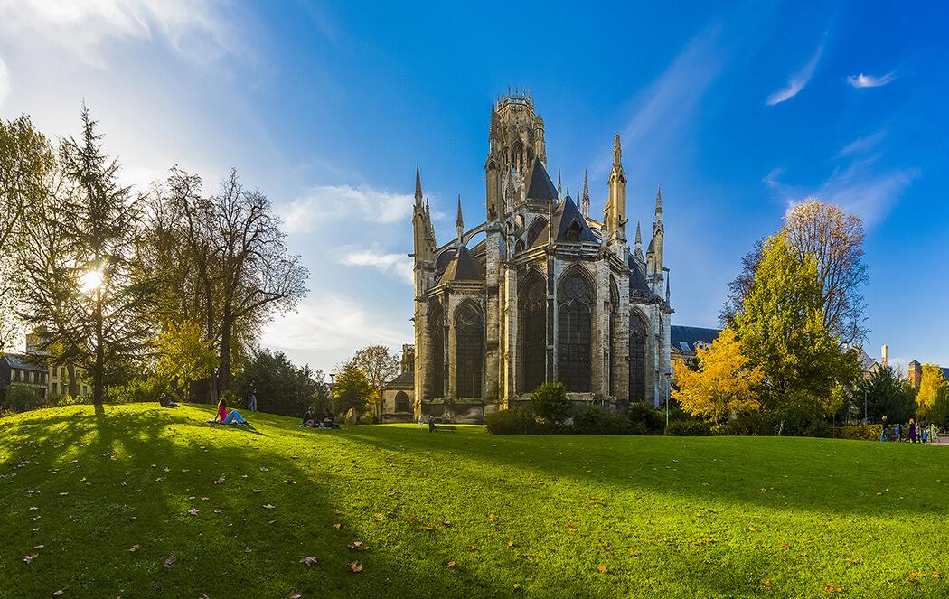 Rouen - Abbatiale saint-ouen - ®CDT76-V.Rustuel