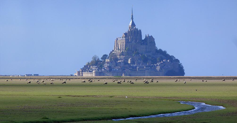 Vacances au Mont Saint Michel -® Stéphane Lesauvage