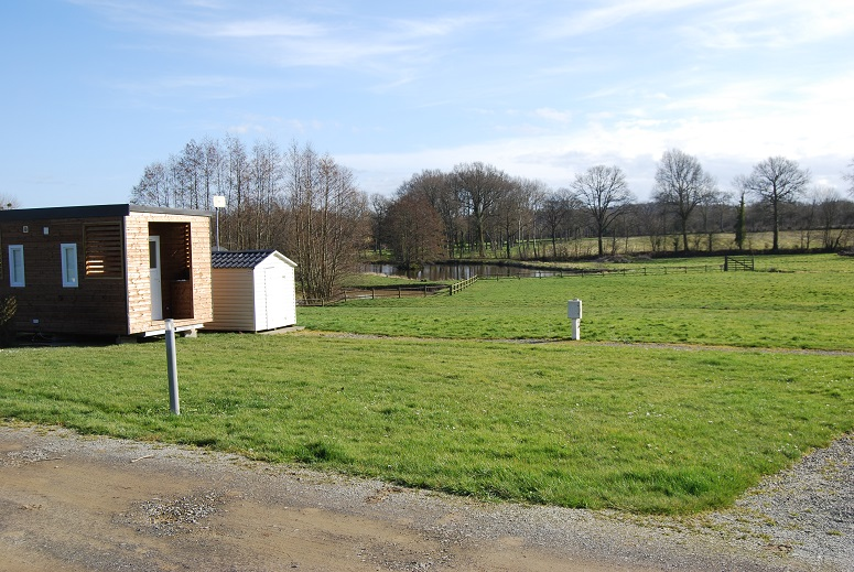 emplacement de camping Premium Suite avec sanitaire privés