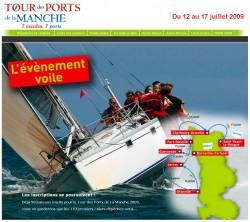 Tour des ports de la Manche